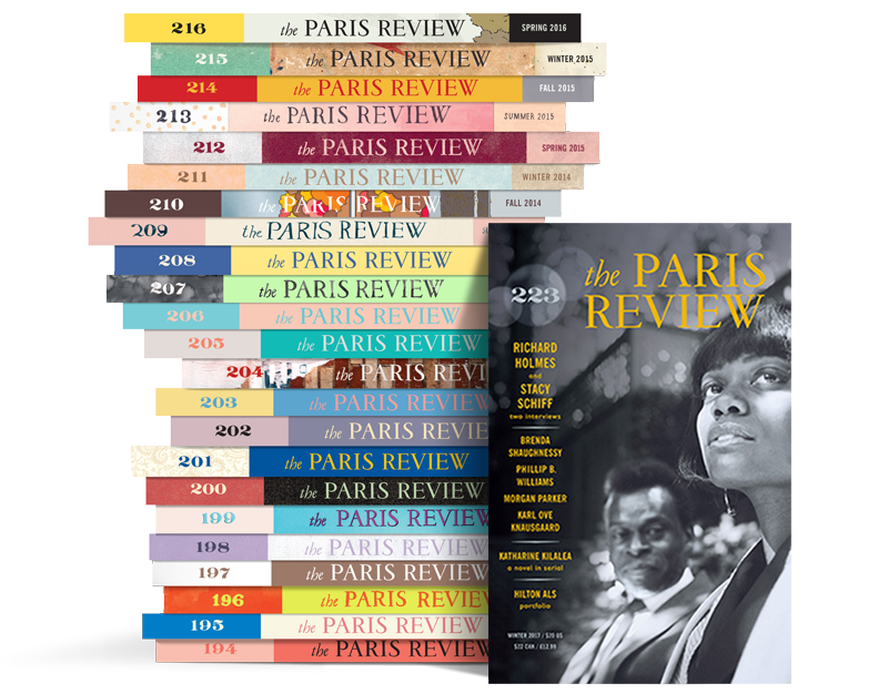 Paris Review Stack 223