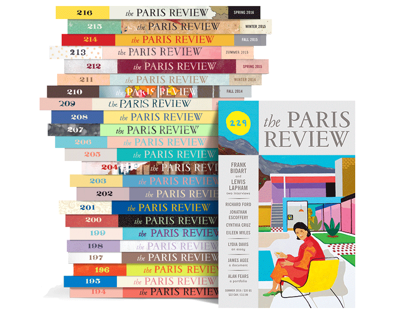 Paris Review Stack 229