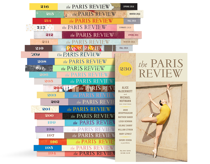 Paris Review Stack 230
