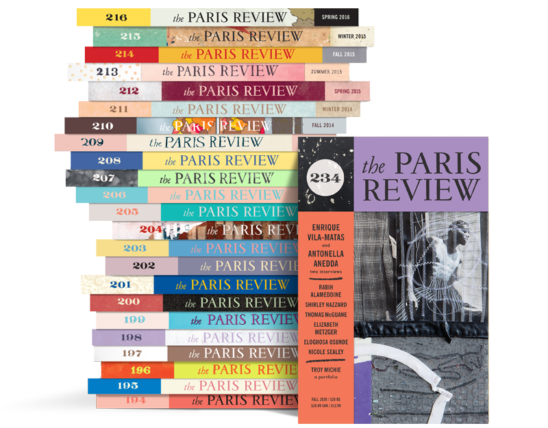 Paris Review Stack 234
