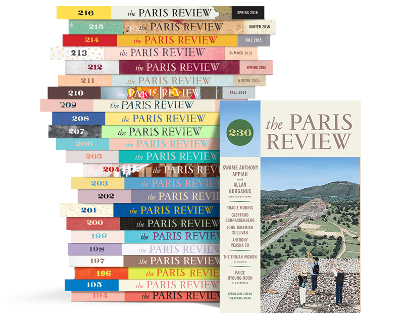 Paris Review Stack 236