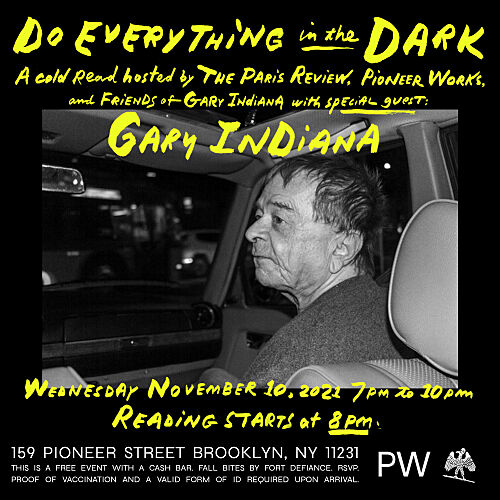 Do Everything in the Dark with Gary Indiana