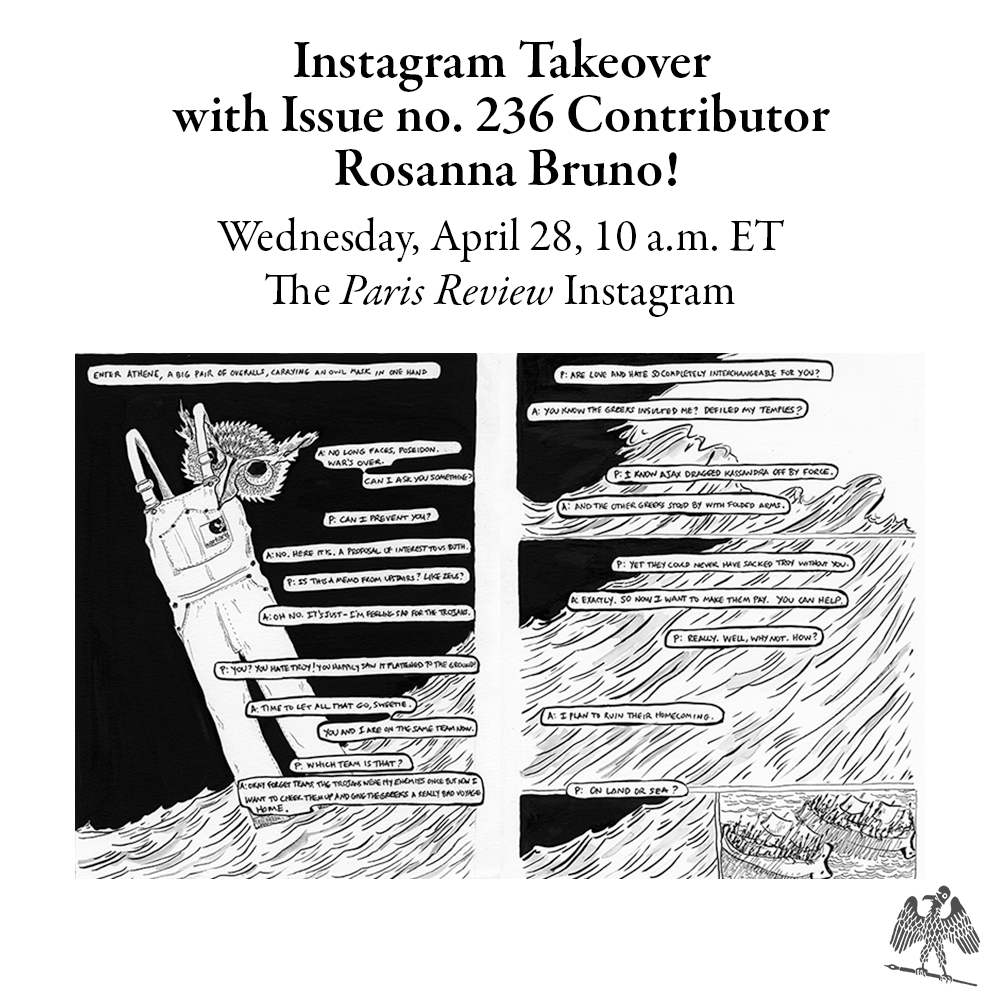 Instagram Takeover with Issue no. 236 Contributor Rosanna Bruno!