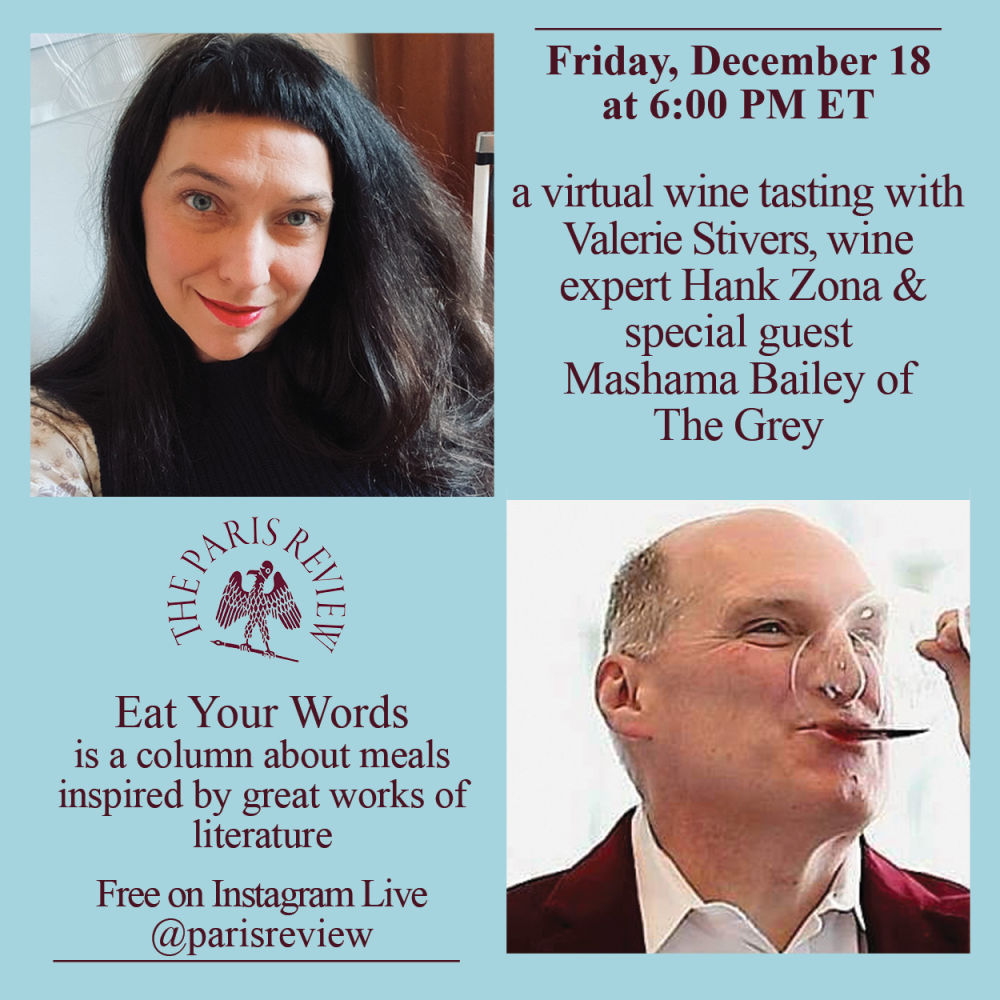 PAST EVENT: Eat Your Words: Virtual Wine Tasting with Valerie Stivers and Hank Zona