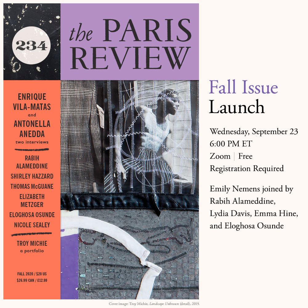 PAST EVENT: Fall Issue Launch: Readings from Issue no. 234