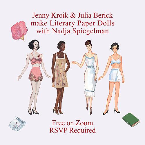 Literary Paper Dolls with Jenny Kroik and Julia Berick