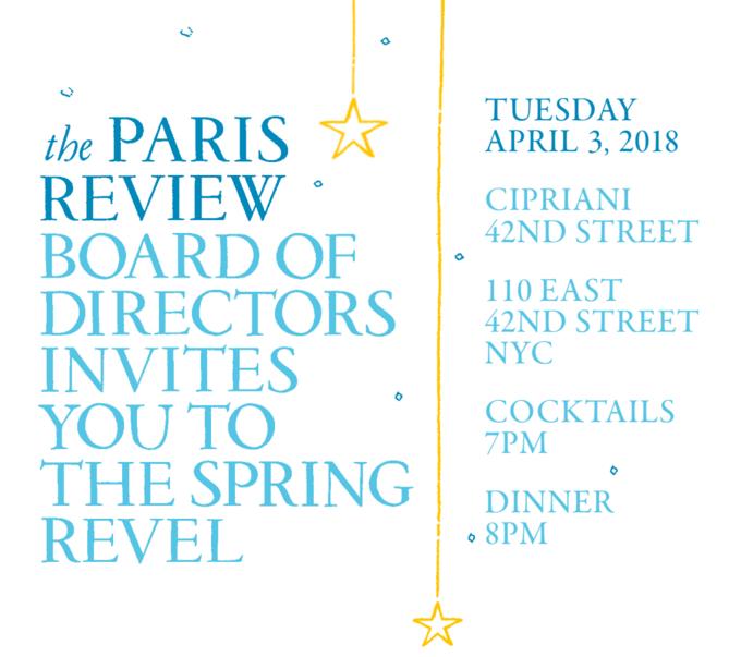 The Paris Review's Spring Revel