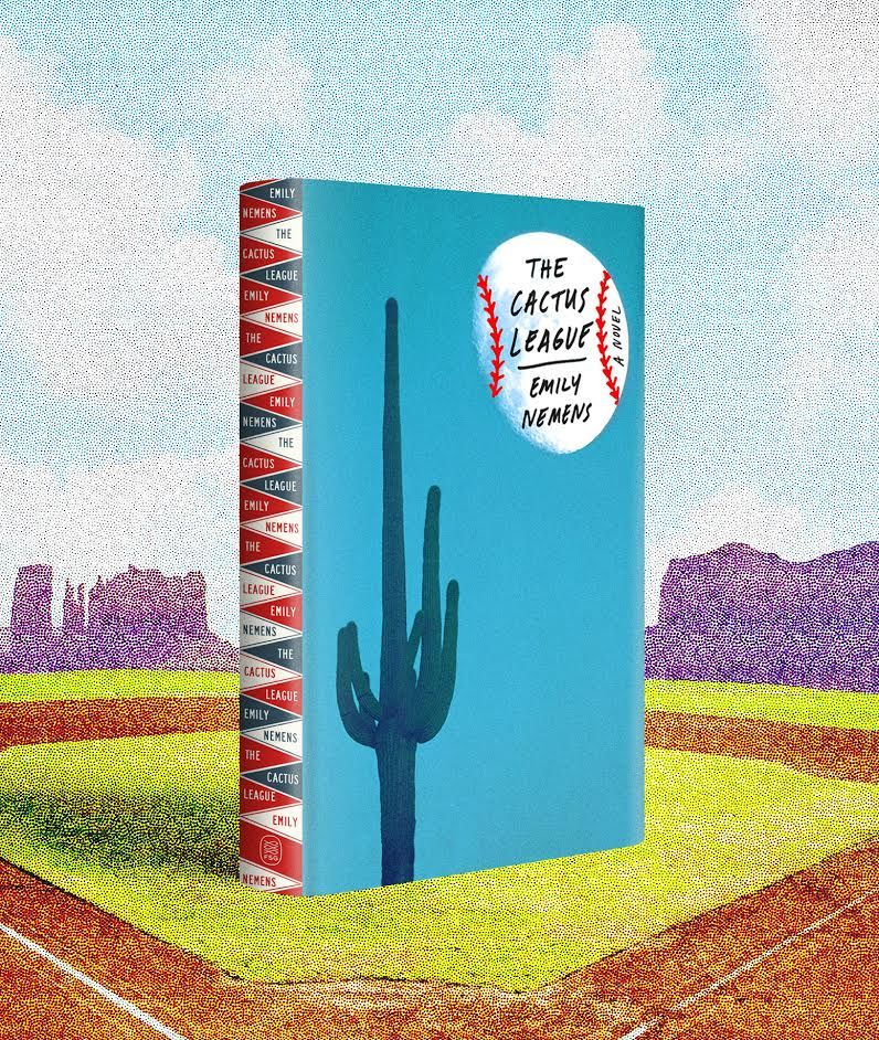 """Launching """"The Cactus League"""": Emily Nemens and David Duchovny"""