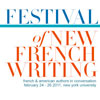 Festival of New French Writing