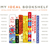 a book launch and exhibition: My Ideal Bookshelf by Jane Mount and Thessaly La Force